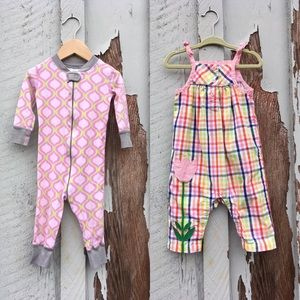 Hanna Andersson Outfit Set Of 2 Size 70cm OnePiece